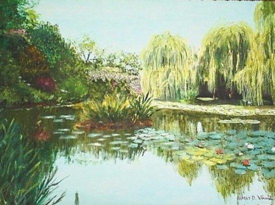 Givernie - Agrandir piece avec peinture ...